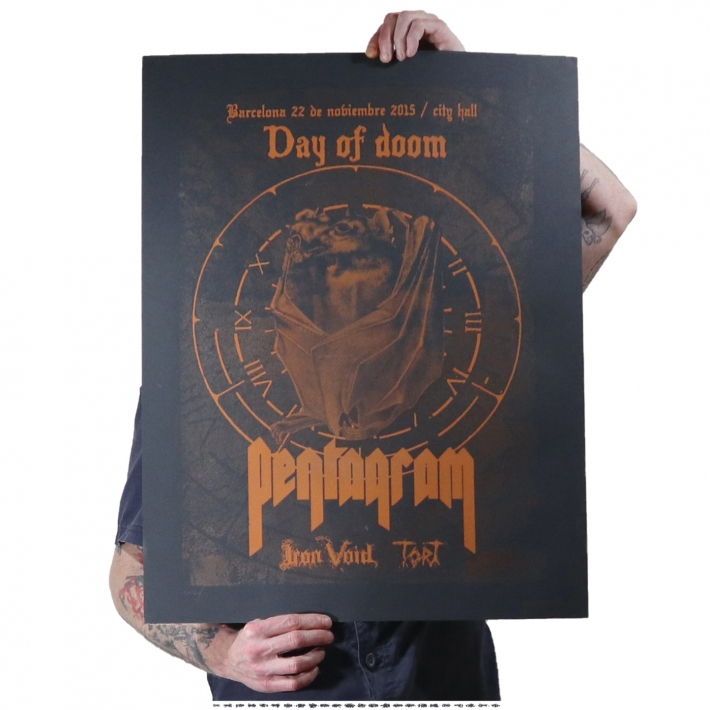 Day of Doom, Barcelona, Gig poster.