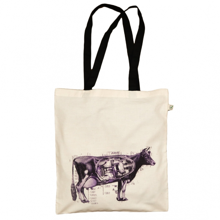 Handprinted Tote Bag