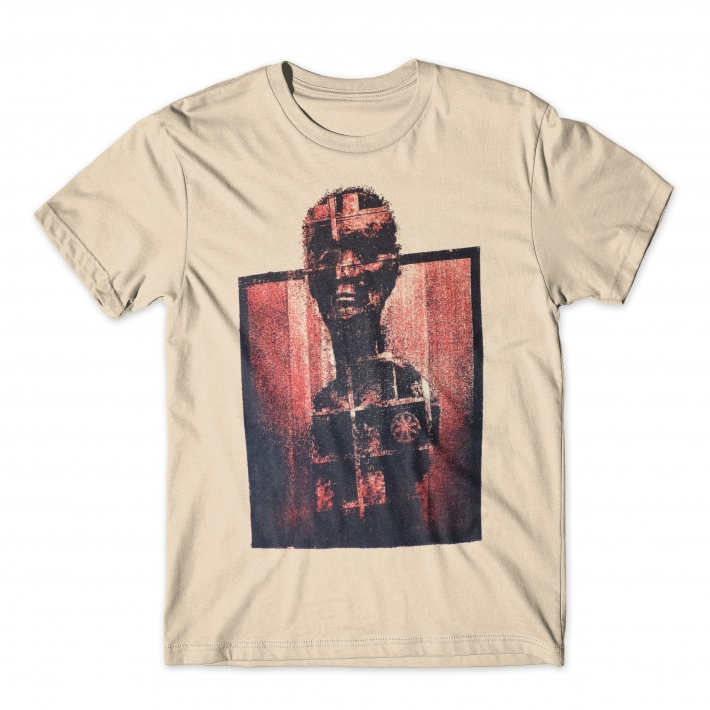 Metropolis urban clothing. Collage tee.