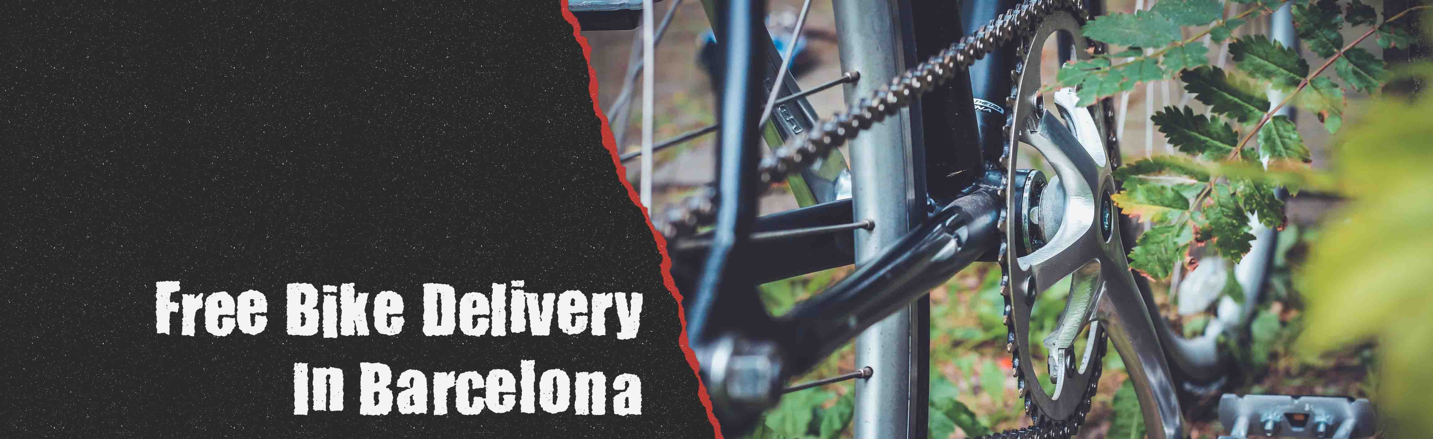 free bike delivery in Barcelona